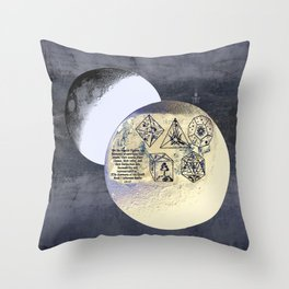 Kepler and his machinations Throw Pillow