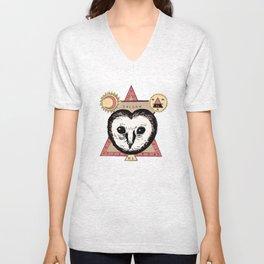 Follow the Owl Unisex V-Neck