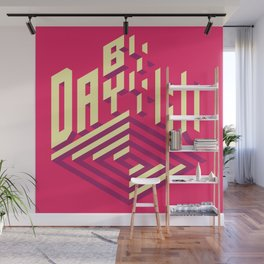 Day by Day Wall Mural