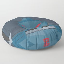 Pipes MTMTE Floor Pillow
