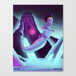The Explorer (Mermaids #1) Canvas Print