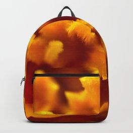 Marigold Macro Abstract Backpack