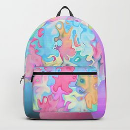 eggs happy easter rainbow Backpack
