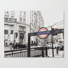 London Underground Canvas Print