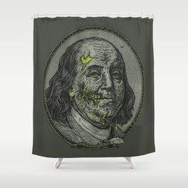BENJAMIN FREAKLIN Shower Curtain