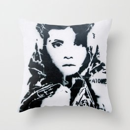 Looking into you Throw Pillow