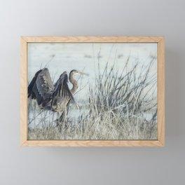 Arriving Framed Mini Art Print