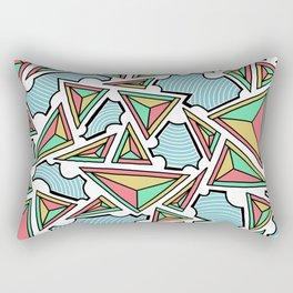 Closed Communiaton Rectangular Pillow