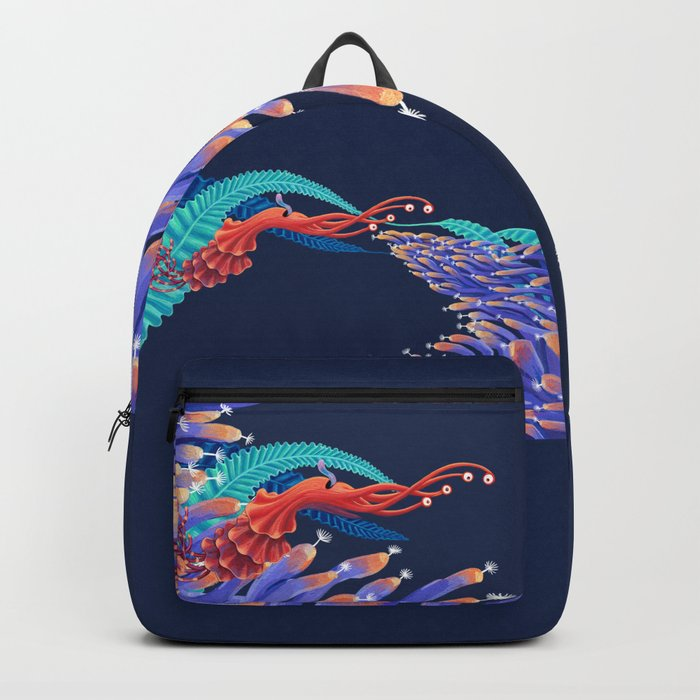 Dancing monster Backpack