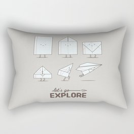 Let's go explore Rectangular Pillow