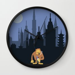 Nagmamahal, Kapre (Philippine Mythological Creatures Series #3) Wall Clock