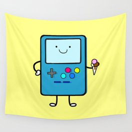 Ice cream lover video game Wall Tapestry