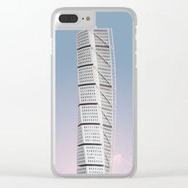 Turning Torso | Santiago Calatrava | #architecture #calatrava Clear iPhone Case