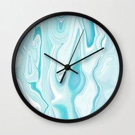 GREEN AGATE Wall Clock