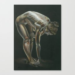 Female figure #3 Canvas Print