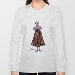Marianela Nunez as Tatiana in Onegin Long Sleeve T-shirt