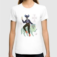 T-shirts featuring Witch Series: Demon by LordofMasks