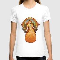 nouveau T-shirts featuring Daisy Nouveau by Megan Lara