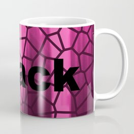 Black and Pink Coffee Mug