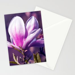 Ultra Violet Magnolia Stationery Cards
