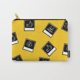 Like My Cat Pics Polaroids Pattern Carry-All Pouch