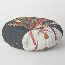 Foliage Floor Pillow