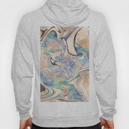 Liquid Bronze Mermaid Sea Marble Hoody