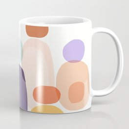 Family Portrait / Contemporary Abstract Shapes Coffee Mug
