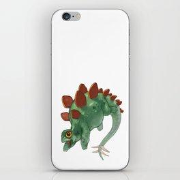 Stegosaurus iPhone Skin