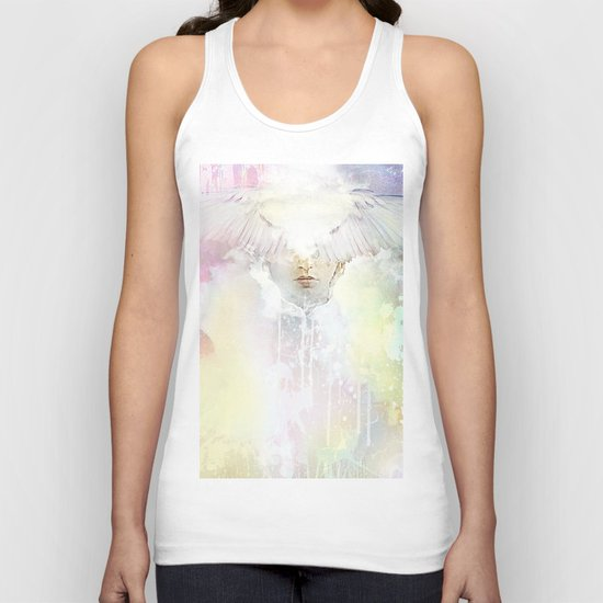 The guardian of dawn Unisex Tank Top