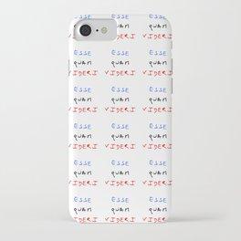 motto of north carolina – esse quam videri iPhone Case