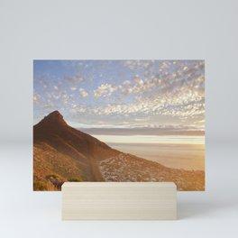 Sea Point, Cape Town Mini Art Print