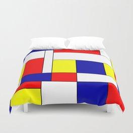Mondrian #37 Duvet Cover