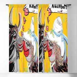 Cow Kiss Blackout Curtain