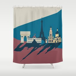 Paris - Cities collection  Shower Curtain
