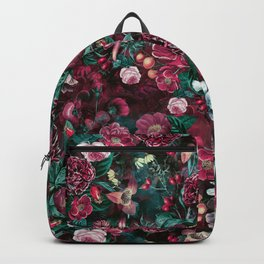 Night Garden Red Backpack