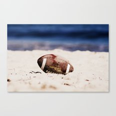The Deserted Game  Canvas Print