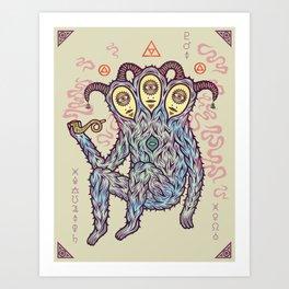 Unholy Alchemy Art Print