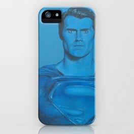 Monochromatic Man of Steel iPhone Case