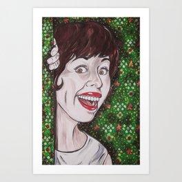 Carol Burnett Art Print