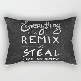 Steall like an artist Rectangular Pillow