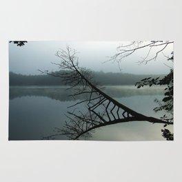 Smokey lake Rug