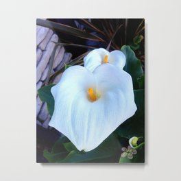 Lilies for Spring by Aloha Kea Photography Metal Print