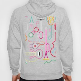 musical instruments Hoody