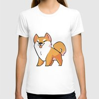 shiba T-shirts featuring Shiba Inu by ParaPara