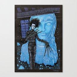 Edward Scissorhands Johnny Depp Canvas Print