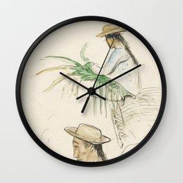 1 Muddy-Loach (Cobitis Fossilis) 2 Ribban-Loach (Cobitis Taenia) 3 Bearded-Loach (Cobitis Bartula) f Wall Clock