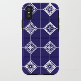 Talavera Mexican Tile – Porcelain Palette iPhone Case