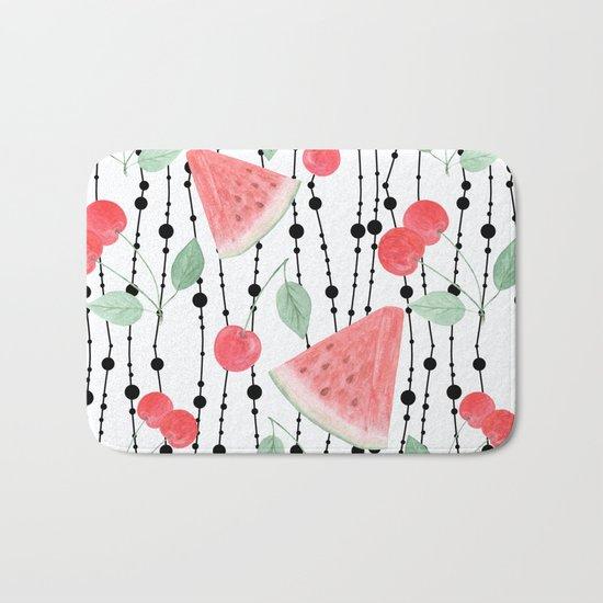 Fruit pattern. Bath Mat