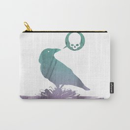 Pissed off crow Carry-All Pouch